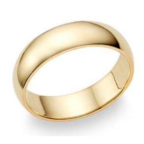 Men Gold Wedding Bands Classic Wedding Band Rings Tungsten Wedding
